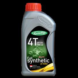 SyneRal Full Synthetic Plus Ester 4T API SN 10W-40 JASO MA 2