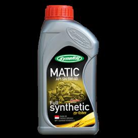 Full Synthetic Plus Ester MATIC API SN 5W-40 JASO MB